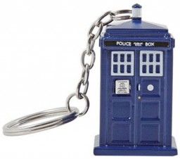 Брелок Doctor Who. Tardis Emergency Fund