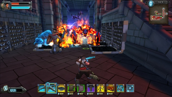 Orcs Must Die 2. DLC Fire and Water Booster Pack