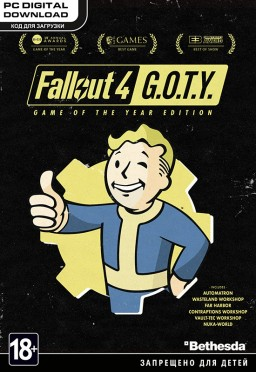 Fallout 4. Game of the Year Edition [PC, Цифровая версия]