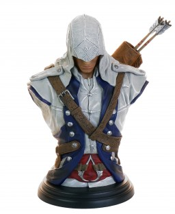 Бюст Assassin's Creed III: Legacy Collection – Connor (19 см)