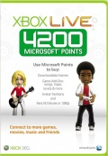 Карта оплаты Xbox Live (4200 Microsoft Points)