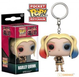 Брелок Funko POP Pocket: Suicide Squad – Harley Quinn Gown Exclusive
