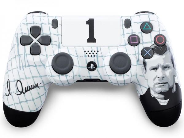 Геймпад DualShock 4 для PS4 беспроводной кастомизированный ФК Динамо «Чёрный паук» (RBW-DS041)