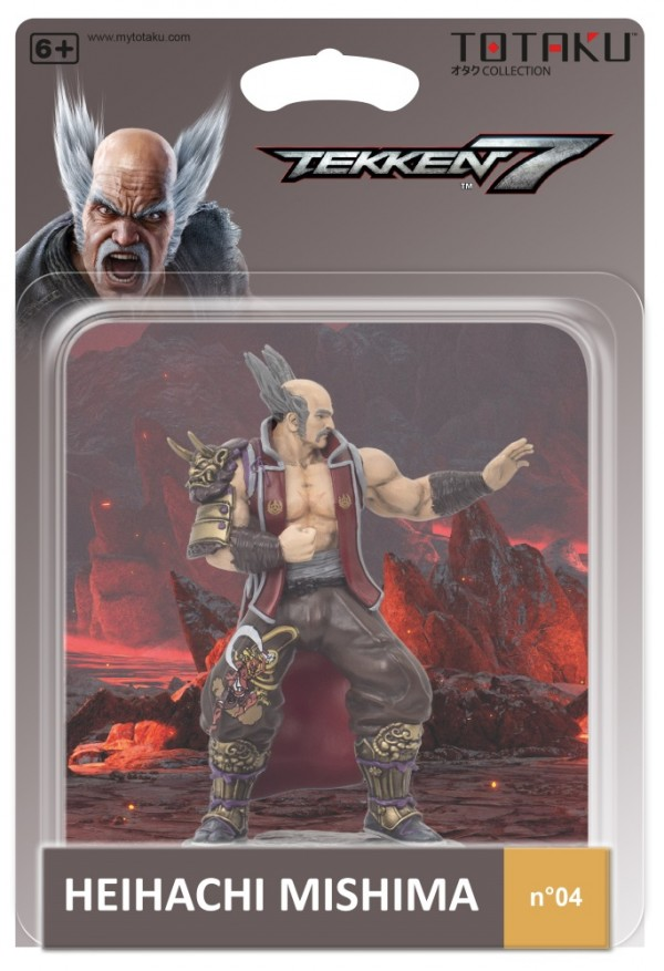 Фигурка TOTAKU Collection: Tekken 7 – Heihachi Mishima (10 см)