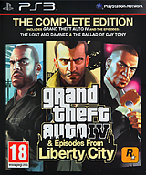 Grand Theft Auto IV: The Complete Edition [PS3]