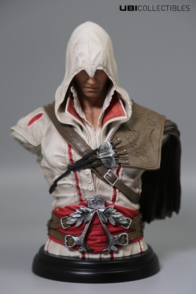 Бюст Assassins Creed II. Ezio Auditore Da Firenze Legacy Collection (18 см)Ubicollectibles представляет свое новое творение, фигурку Assassins Creed II. Ezio Auditore Da Firenze Legacy Collection Horse – культового персонажа игры «Assassin's Creed II».<br>