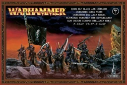 Набор миниатюр Warhammer 40,000. Dark Elf Black Ark Corsairs