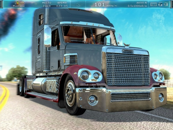 Аэрография для тягача Western Star A4900EX [PC, Цифровая версия]