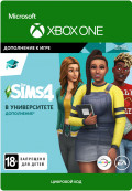 The Sims 4: Discovery University. Дополнение [Xbox One, Цифровая версия]