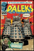 Плакат Doctor Who: Daleks Comic Cover