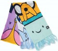 Шарф Adventure Time All Characters Knitted Scarf