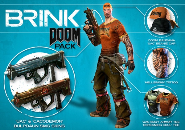 Brink. Doom / Psycho Combo Pack [PC, Цифровая версия]