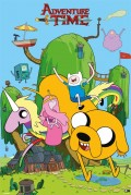 Плакат Adventure Time: House