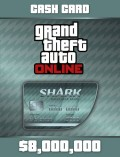 Grand Theft Auto Online: Megalodon Shark Cash Card [PC, Цифровая версия]