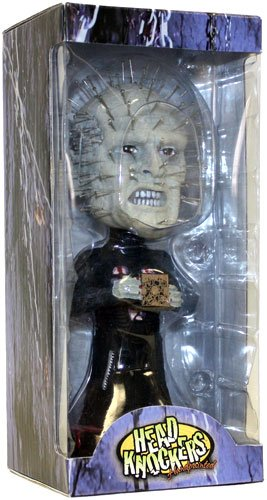Фигурка Hellraiser Pinhead Extreme Head Knocker (18 см)