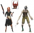Набор фигурок Bioshock Splicer Ladysmith and Crawler 2 Pack (18 см)