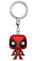 Брелок Funko POP: Deadpool – Deadpool With Swords Bobble-Head