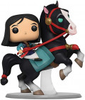Фигурка Funko POP Rides Disney: Mulan – Mulan Riding Khan (9,5 см)