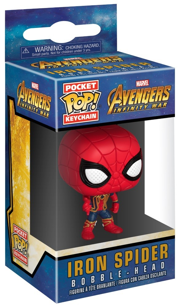 Брелок Avengers Infinity War Funko POP Marvel: Iron Spider