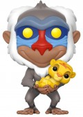 Фигурка Funko POP: Disney The Lion King – Rafiki With Baby Simba (9,5 см)