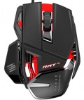 Проводная мышь Mad Catz RAT 4 Gaming Mouse – Black/Red для PC