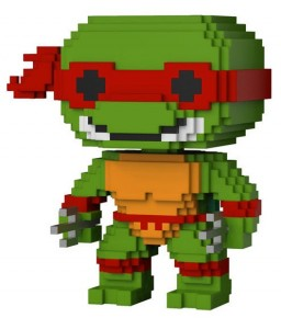 Фигурка Funko POP 8-Bit: Teenage Mutant Ninja Turtles – Raphael (9,5 см)