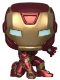 Фигурка Funko POP Games Marvel: Avengers Gamerverse – Iron Man Bobble-Head (9,5 см)