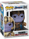 Фигурка Funko POP Marvel: Avengers Endgame – Thanos Bobble-Head (9,5 см)