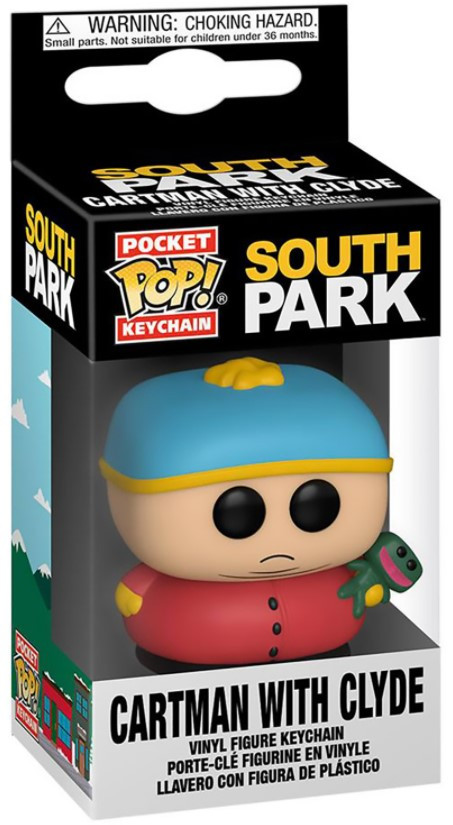Брелок Funko Pocket POP: South Park. Series 3 – Cartman with Clyde (4 см)