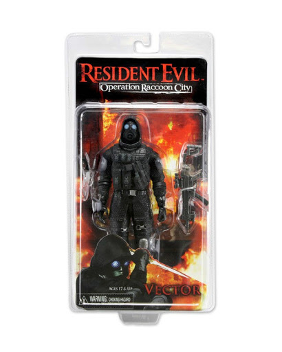 Фигурка Resident Evil Vector Operation Raccoon City (18 см)