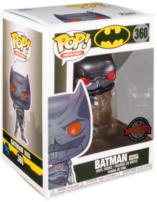 Фигурка Funko POP Heroes: Batman Murder Machine Exclusive (9,5 см)