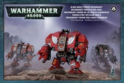 Набор миниатюр Warhammer 40,000 Blood Angels Furioso Dreadnought