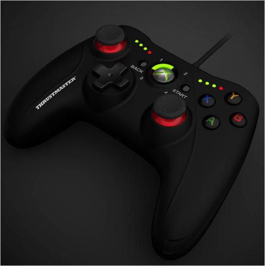 Геймпад Thrustmaster GPX для PC/Xbox 360 (черный, с подсветкой) из ...
