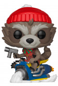 Фигурка Funko POP Marvel: Holiday – Rocket Bobble-Head (9,5 см)