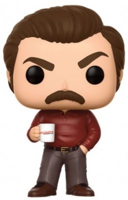 Фигурка Funko POP Television: Parks & Recreation – Ron Swanson (9,5 см)