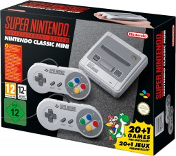 Игровая консоль Nintendo Classic Mini: Super Nintendo Entertainment System