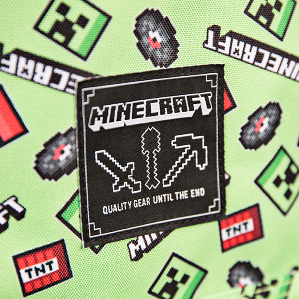 Рюкзак Minecraft: Creeper Scatter Green