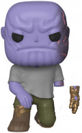 Фигурка Funko POP Marvel: Avengers Endgame – Thanos Without Hand Bobble-Head Exclusive (9,5 см)
