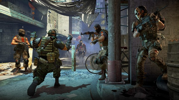 Скриншот из игры Army of Two: The 40th Day