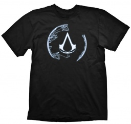 Футболка Assassin's Creed. Animus Crest (черная)