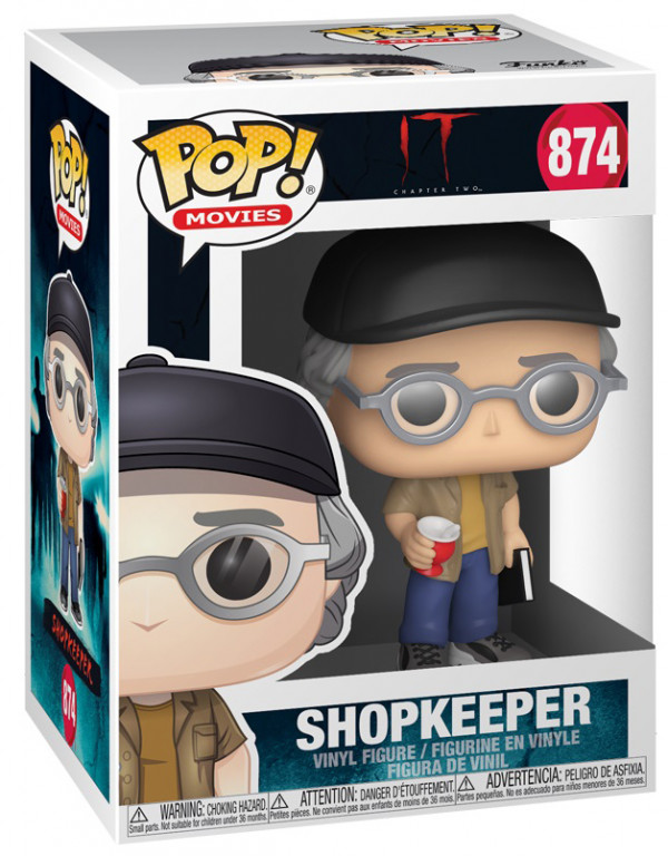 Фигурка Funko POP Movies: IT Chapter 2 – ShopKeeper (9,5 см)