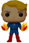 Фигурка Funko POP: Fantastic Four – Human Torch Suited Glows In The Dark Bobble-Head (9,5 см)