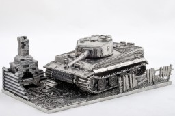 World of Tanks. Модель танка Tiger (1:72)
