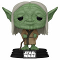 Фигурка Funko POP: Star Wars Concept Series – Yoda Bobble-Head (9,5 см)