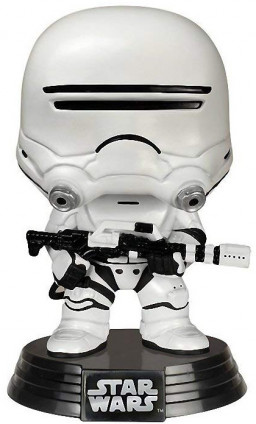 Фигурка Funko POP: Star Wars – First Order Flametrooper Bobble-Head (9,5 см)
