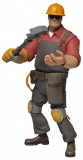Фигурка Team Fortress. Series 3. Red Engineer (18 см)