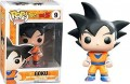 Фигурка Funko POP Animation Dragonball Z: Black Hair Goku (9,5 см)