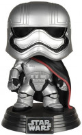 Фигурка Funko POP: Star Wars – Captain Phasma Bobble-Head (9,5 см)