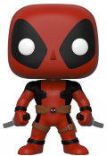 Фигурка Funko POP: Marvel Deadpool – Deadpool With Two Swords (Red) Bobble-Head (25,4 см)