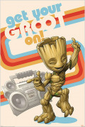 Постер Guardians Of The Galaxy: Get Your Groot On